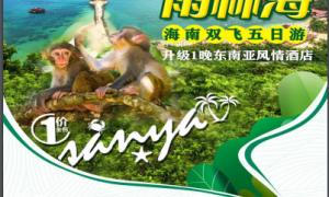 [三亚]双岛雨林海